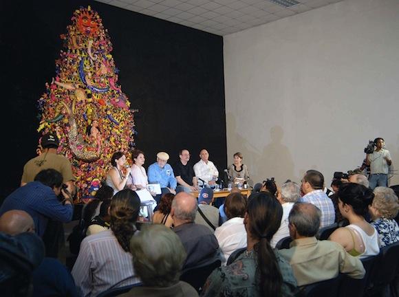 """Silvio Rodriguez en Conferencia de Prensa para presentar """"Segunda Cita"""". Foto: Raúl Pupo"""