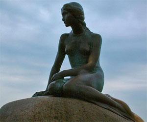 Sirena del puerto de Dinamarca