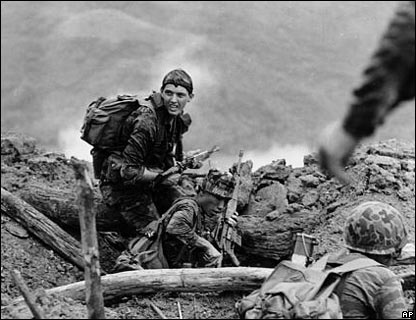 Soldado yanqui en Vietnam