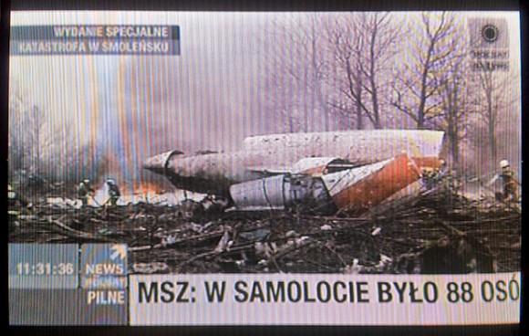 Accidente que ocasionó la muerte del Presidente de Polonia