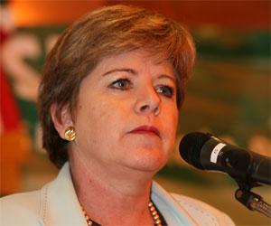 Alicia Bárcena, Secretaria Ejecutiva de la Comisión Económica para América Latina y el Caribe (CEPAL)
