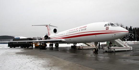 Avión del Presidente de Polonia