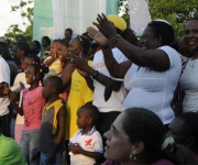 Haití: Actividades desarrolladas por la brigada artística cubana Marta Machado