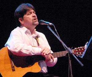 Cantautor paraguayo Ricardo Flecha