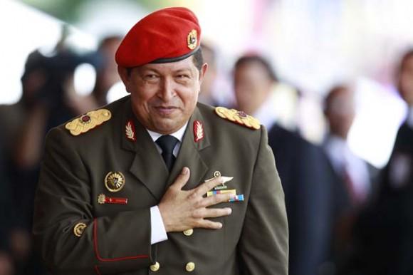 El presidente de Venezuela, Hugo Chávez, acompañado por gobernantes de varios países, abrió hoy la celebración del bicentenario/