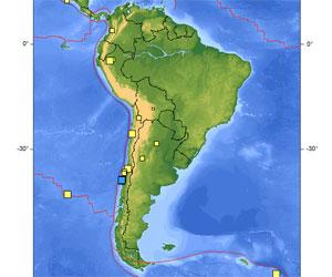Tembló la tierra al norte de Chile