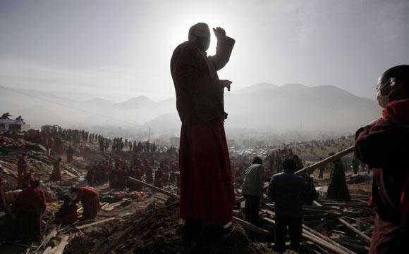 China, 10 días tras el terremoto. Foto: REUTERS/Alfred Jin