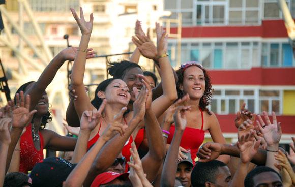 Concierto por la Patria,10 de abril en la Tribuna Antimperialista. Foto: Kaloian