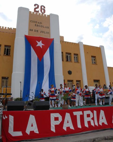 Concierto por la Patria en Santiago de Cuba