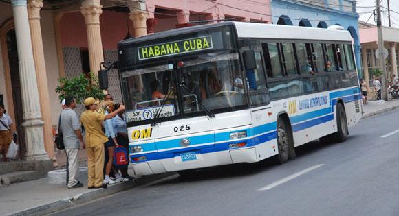 Transporte urbano, en el casco histórico de la ciudad