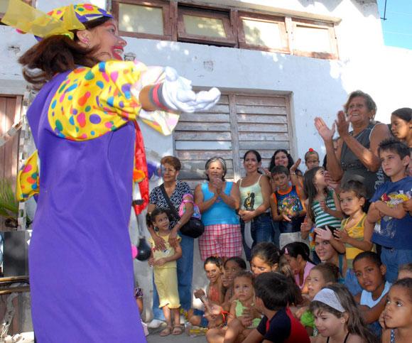 Tarde de fiestas para niños en Villa Clara