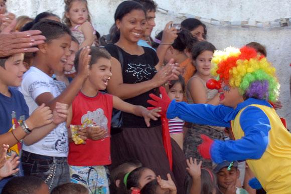 Tarde de fiesta para los niños