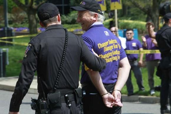 Arrestro de Danny Glover Foto: AFP