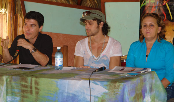 Presentación del disco Kilómetro Cero de Ernesto Blanco. Foto: Marianela Dufflar / Cubadebate