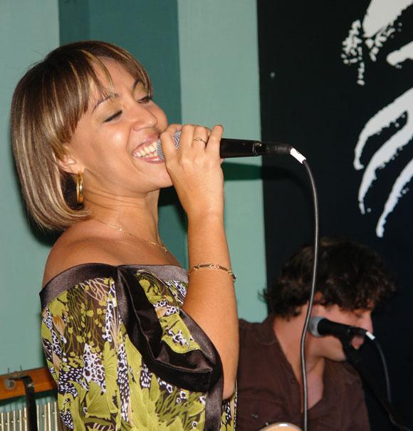 Presentación del disco de Sory, Déjame Ser. Foto: Marianela Dufflar