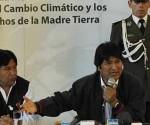 Evo Morales en la Cumbre de los Pueblos sobre el Cambio Climático y los Derechos de la Madre Tierra