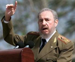 Fidel Castro el Primero de Mayo de 2000