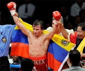 Inca Valero, boxeador venezolano