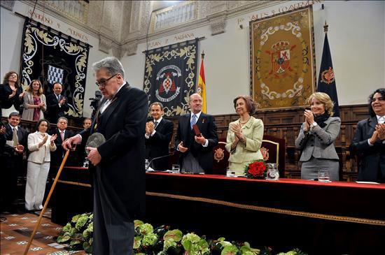 José Emilio Pacheco recibe el Premio Cervantes