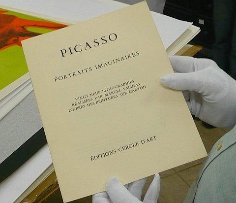 Catálogo de la donación de los Picasso al Museo Nacional de Bellas Artes de Cuba