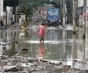 Sube cifra de muertos por lluvias en Rio de Janeiro. Foto: EFE