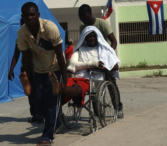 HAITI-TERREMOTO-ATENCION MEDICA