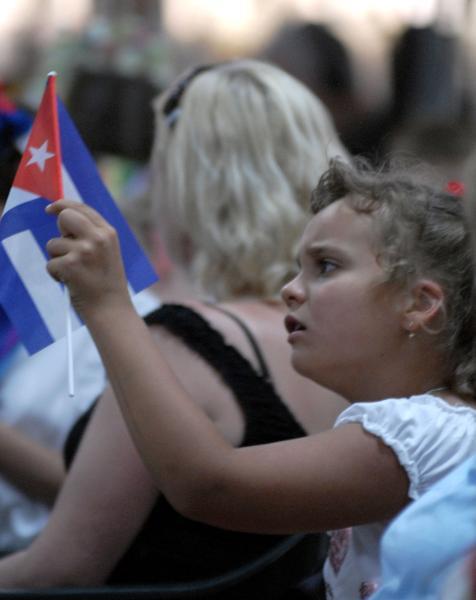 Niños de Chernóbil en Cuba