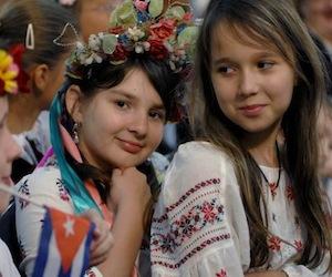 Niños de Chernobil atendidos en Cuba