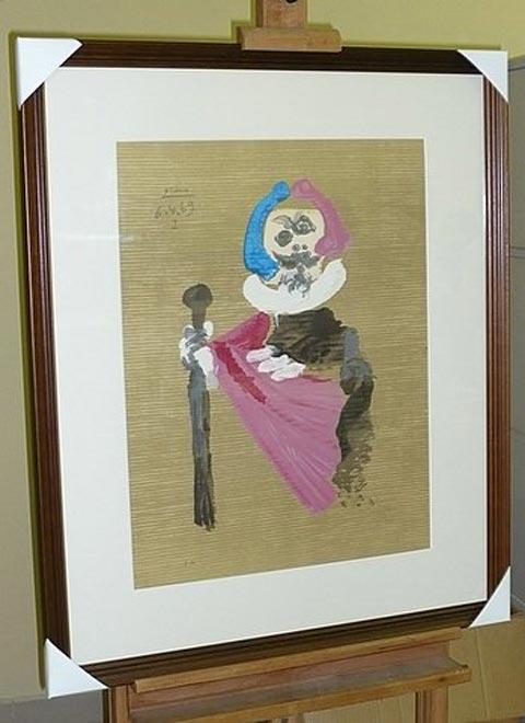 Cuadro de Picasso donados al Museo de Bellas Artes de Cuba