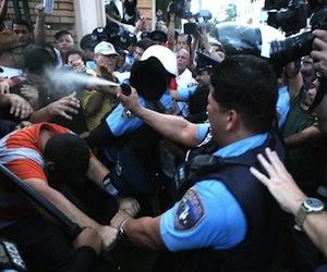 Puerto Rico, estudiantes en Huelga