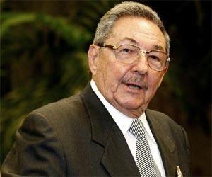 Presidente Cubano Raúl Castro