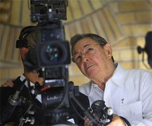 Presidente cubano Raúl Castro Ruz. Foto de archivo