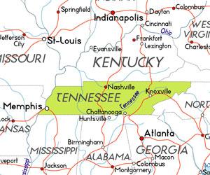 Tennessee. Estados Unidos