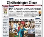 Diario The Washington Times, Estados Unidos