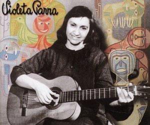 Habían crecido juntas, la guitarra y Violeta Parra