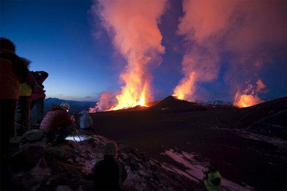 Volcán Islandia