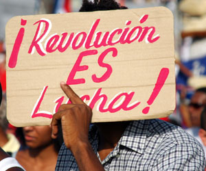 Cuba, desfile del 1ro de Mayo. Foto: Kaloian