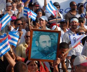 Cuba, desfile del 1ro de Mayo de 2010