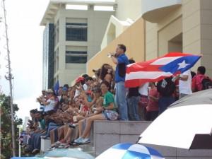 El corazón puertorriqueño con los estudiantes en huelga (+ Videos)