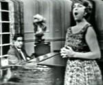 """Adolfo Guzmán y Esther Borja en el programa """"Album de Cuba"""""""