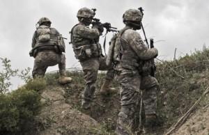 Soldados estadounidenses patrullando en Afganistán Foto EFE