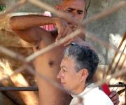 Barberos en Moa, tierra del níquel. Foto: Kaloian