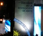 Celebración del Bicentenario en Argentina. Foto: Javier Sanzo