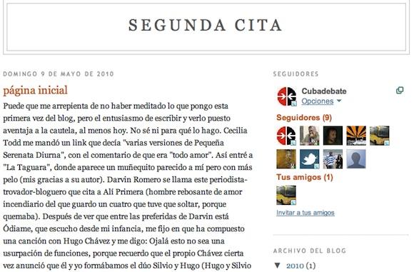 Blog de Silvio Segunda Cita