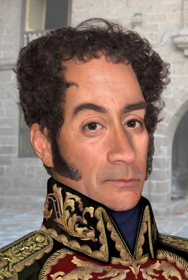 Aparece retrato indito con el rostro del Libertador Simn Bolvar