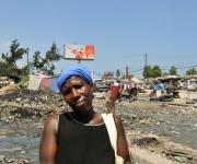 Rostros de Haiti con la mirada de Chile. Foto: Roberto Chile