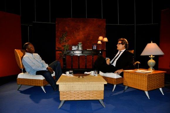 """Programa televisivo """"Con 2 que se quieran"""". Foto: Peti"""