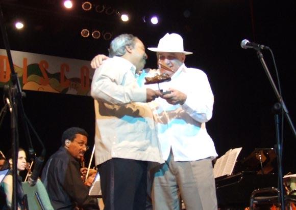 Gala Clausura Cubadisco 2010. Foto: Marianela Dufflar