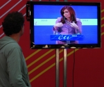 Cristina Fernández en la Cumbre UE-ALC