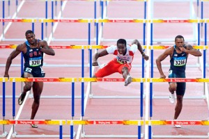 Dayron y Oliver en la final olímpica de Beijing 2008